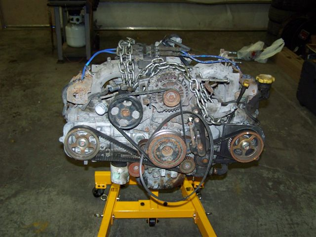 DIY: Engine Building: EJ251 with STI Rods/Pistons and Head Work