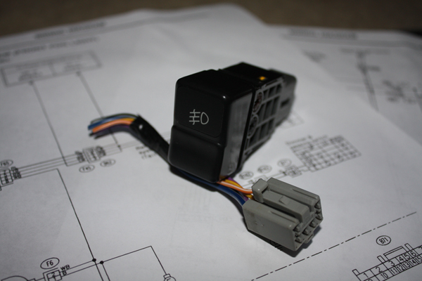 Sold  Foglight Switch  With Pigtail And Wiring Diagrams