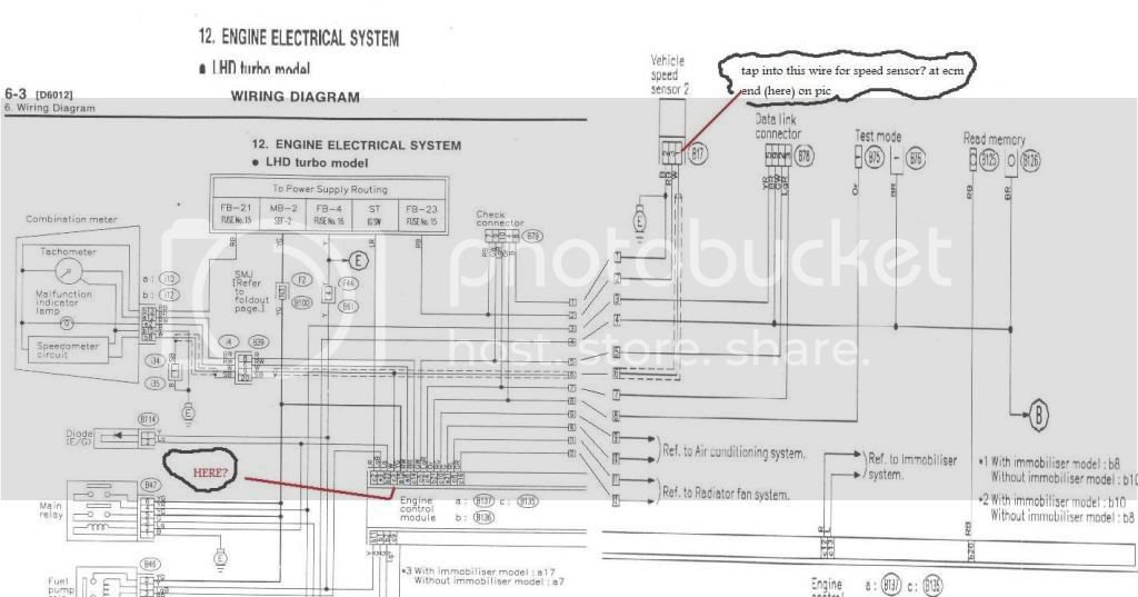 Speedo Cable Wiring Diagram