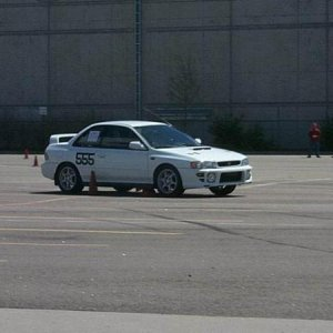 Remember the Cone Killer shirts and hoodies that were being sold on the RS Club a long time back?  Here is the photo of my in my RS that it came from.