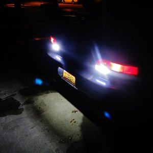 2000 Subaru Impreza 2.5RS 5,000k LED Reverse & License Plate Lights Installed